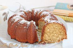 Mis Dulces Joyas: Coconut Milk Bundt Cake - Bizcocho de leche de coco