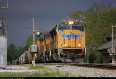 RailPictures.Net Photo: UP 5131 Union Pacific EMD SD70M at Laurel, Mississippi by MSRailFan