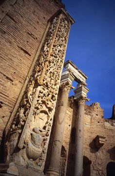Leptis Magna, the ruins of a Roman city just east of Tripoli, Libya