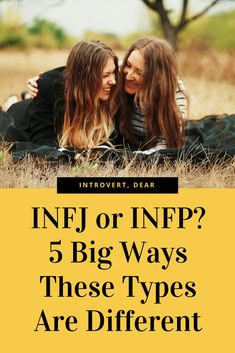 1. INFJs are more analytical, whereas INFPs are more artistic. #INFJ #INFP