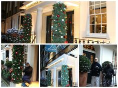 Our Christmas helpers have been hard at work transforming Flemings Mayfair Hotel :) #Christmas #ChristmasDecorations #LondonHotel #FlemingsMayfair