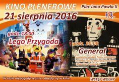 Kino plenerowe, 21.08.2016 r.
