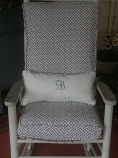 etsy rocking chair cushions