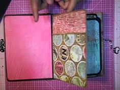Out of Print Basic Grey Envelope Mini Ablum - YouTube  1st of 6 videos that walk thru creating this fab Mini by Kathy Orta.