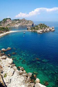 Sicily, Italy- beautiful! - Taormina! Been there. Just as beautiful in person! :)