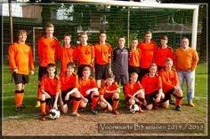 Dit is mijn voetbalteam
