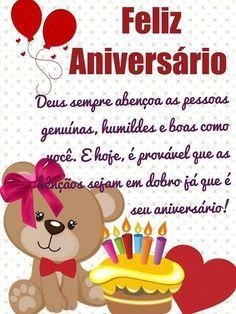 Mensagem aniversario amigo: Feliz aniversário! Deus sempre abençoa as pessoas genuínas, humildes e boas como você!