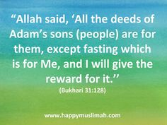 One of the most beautiful, hope inspiring and encouraging quotes (or hadith) from the beloved Prophet ( sallallahu alaihi wasallam) on R. Ramadan Day, The Deed, Months In A Year, Encouragement Quotes, Muslim, Islamic, Parenting, Journal, Sayings