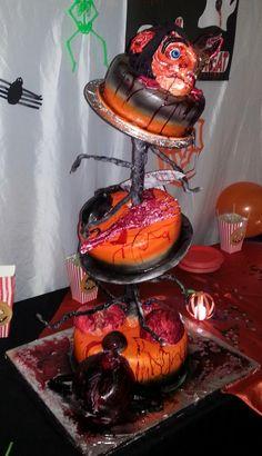 Halloween 21st Birthday Cake