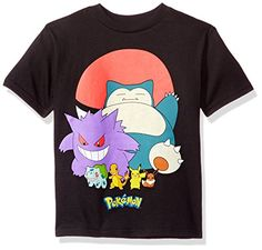 Pokemon Little Boys Pokeball Group ShortSleeved Tee Black 4 >>> For more information, visit image link.Note:It is affiliate link to Amazon.