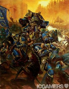 Post with 98 votes and 3737 views. Tagged with Awesome, ; Shared by Warhammer Art Dump Warhammer Fantasy, Warhammer 40k Art, Space Marine, Far Future, Tyranids, The Grim, Geek Art, Les Oeuvres, Fantasy Art