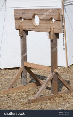 Pillory Punishment Offender Stock Photo 41477695 - Shutterstock