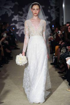 Carolina Herrera Best in Bridal: Spring 2015   http://www.hawaiianweddings.net #weddingdresses #harpersbazaar #springfashionweek
