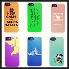 Disney phone cases.. In love!! Need these!!