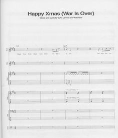John Lennon - Happy Xmas (War Is Over) batería