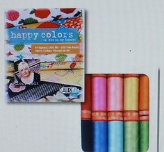 Thread, Aurifil~Lori Holt~Happy Colors Collection 50 wt. Small Spools, Fast Shipping TH188