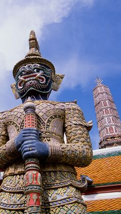 Grand Palace in Bangkok, Thailand #treasuredtravel
