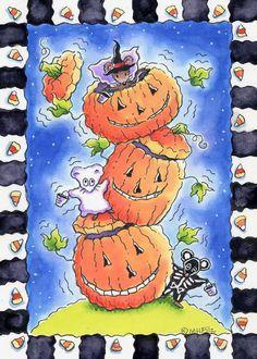 Halloween is coming! by Marilee Harrald-Pilz