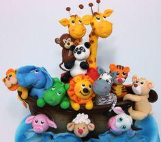 Handmade Noah's Ark polymer clay - Buscar con Google