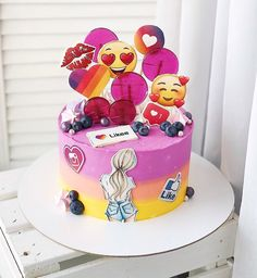 Cakes For Teenagers, Ballerina Cakes, Birthday Cake, Cookies, Desserts, Food, Design, Painted Cakes, Foods