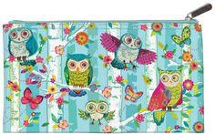 Wood Owls meikkilaukku