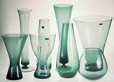 Großes Konvolut + 8 Glas-Vasen WMF + Wilhelm Wagenfeld um 1960