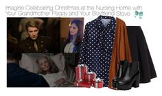 """""""Imagine Celebrating Christmas at the Nursing Home with Your Grandmother Peggy and Your Boyfriend Steve"""" by fandomimagineshere ❤ liked on Polyvore featuring Coleman, Polo Ralph Lauren, women's clothing, women, female, woman, misses, juniors and request"""