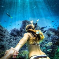 From surfing and skydiving to animal close-ups and stunning scenery, this gallery has some breathtaking images that we only get to see thanks to the GoPro. Underwater Photos, Underwater World, Gopro Underwater, Gopro Photography, Underwater Photography, Murad Osmann, Foto Pose, Adventure Is Out There, Snorkeling