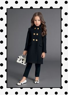 Discover the new Dolce&Gabbana Children Girl Collection for Summer 2017 and get inspired. - without the purse! Trendy Outfits For Teens, Stylish Winter Outfits, Winter Outfits For Girls, Dresses For Tweens, Cute Girl Outfits, Little Girl Outfits, Little Girl Fashion, Baby Girl Dresses, Kids Winter Fashion