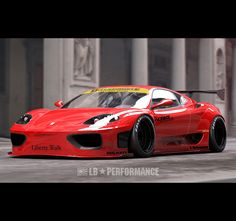 The F360 Modena's 15 minutes of fame might have passed a long time ago, being eclipsed now by its state-of-the-art successors, but the mid-engine Ferrari's days of aweing are not over yet, thanks to Liberty Walk.