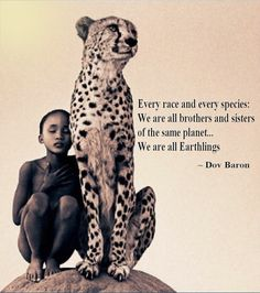 We are all Earthlings  http://DovBaron.com