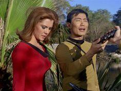 "Star Trek 1 x 15 ""Shore Leave"" Emily Banks as Tonia Barrows                                                                                                                                                      More"