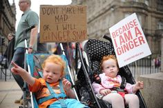 Welcome to Zoomers News › Red Heads take over the Streets of Scotland!