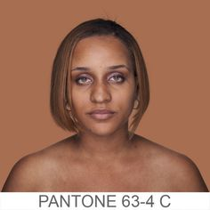 Humanae  is a chromatic inventory, a project that reflects on the colors beyond the borders of our codes by referencing the PANTONE® color scheme. We generally think of the extremes, but by showing individuals arranged according to hue, the project highlights the arbitrariness of racial boundaries.