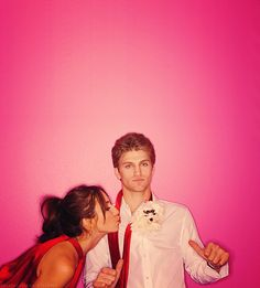 Too cute :-) keegan allen and troian bellisario