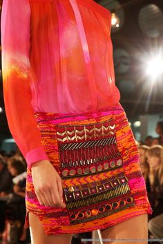 Mathew Williamson for S/S13 at LFW.