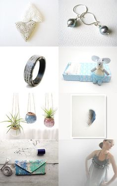 Between blue and grey by MUSA on Etsy--Pinned with TreasuryPin.com