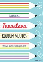 InDesign Innostava koulun muutos PS-kustannus 2014. Tech Companies, Company Logo, Reading, Logos, Book Covers, Ps, Logo, Reading Books, A Logo