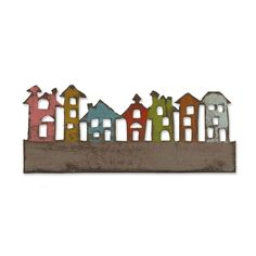 Sizzix.com - Sizzix On the Edge Die - Townscape
