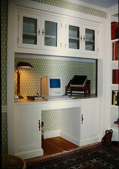Converting a closet into an office