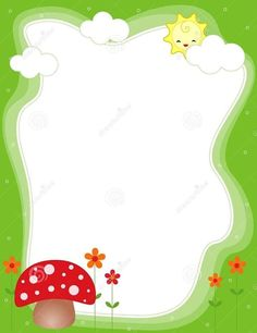 Page Borders, Borders And Frames, Borders For Paper, Christmas Boarders, Boarder Designs, Preschool Themes, School Frame, Binder Covers, Paper Frames