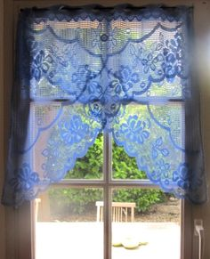 Hey I Found This Really Awesome Etsy Listing At 172019785 Purple Lace Curtain French Cafe
