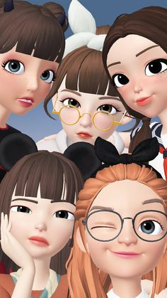 Cartoon Wallpaper, Iphone Wallpaper, Korean Best Friends, Islamic Cartoon, Gif Dance, Hijab Cartoon, Hijabi Girl, Animated Gif, Art Drawings