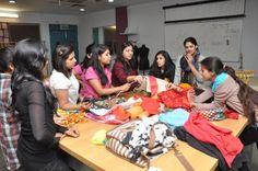 #WWNLSFStudents creating an installation for the Kala Ghoda Arts Festival, 2015, Mumbai