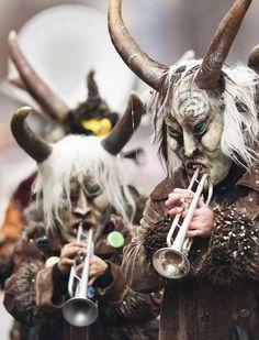 carrancas de carnaval.