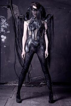 Katarzyna Konieczka #goth #fashion