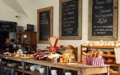Cafe, Buenos Aires Vintage style food presentation unique style chalkboard Frames
