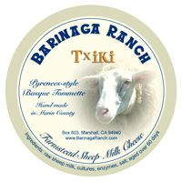 Txiki - fruity, nutty, and sweet cheese from unpasteurized sheep's milk in California