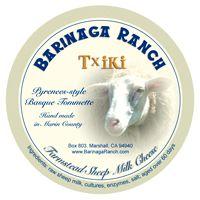 Barinaga Ranch Farmstead Sheep Milk Cheese - Txiki