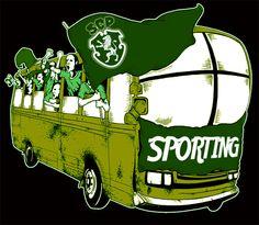 Resultado de imagem para cartoon autocarro sporting
